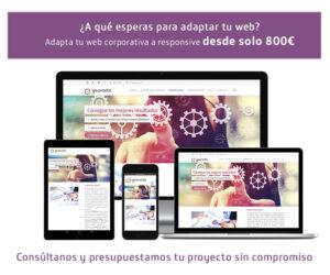 web responsive gesprodat